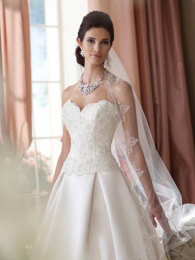 9802b87740d0 Abiti Da Sposa In Raso » Abiti da sposa online caratteristiche dei ...